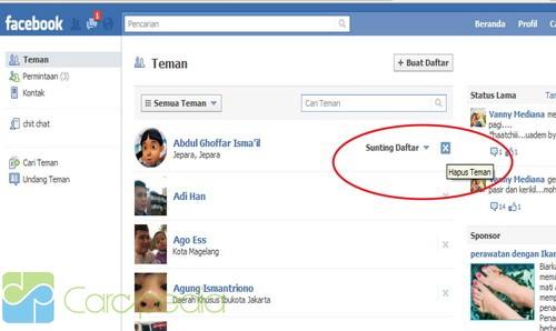 Cara menghapus account facebook secara permanen