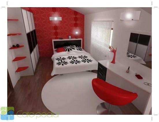 Interior & Dekorasi Kamar Tidur Modern