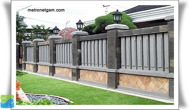 ... model pagar rumah sebagai referens kita dalam memilih model pagar