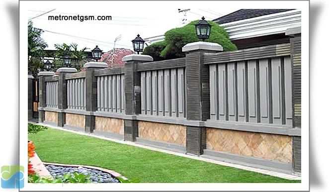 model pagar rumah sebagai referens kita dalam memilih model pagar