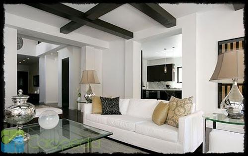 Berikut ini adalah contoh beberapa desain interior ruang tamu: