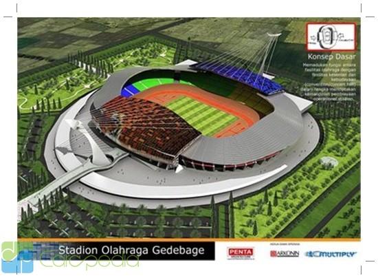 Tentang Stadion Gedebage - Olahraga - CARApedia