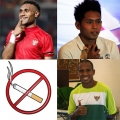 3 Atlet Sepakbola Indonesia yang Anti-Rokok