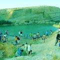 Wow, Muncul Danau Misterius di Wilayah Tunisia
