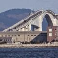 Wah, Ada Jembatan Tercuram Sedunia di Jepang
