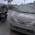Membersihkan Mobil Akibat Abu Vulkanik