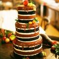 Naked Cake yang Populer Untuk Wedding 2015